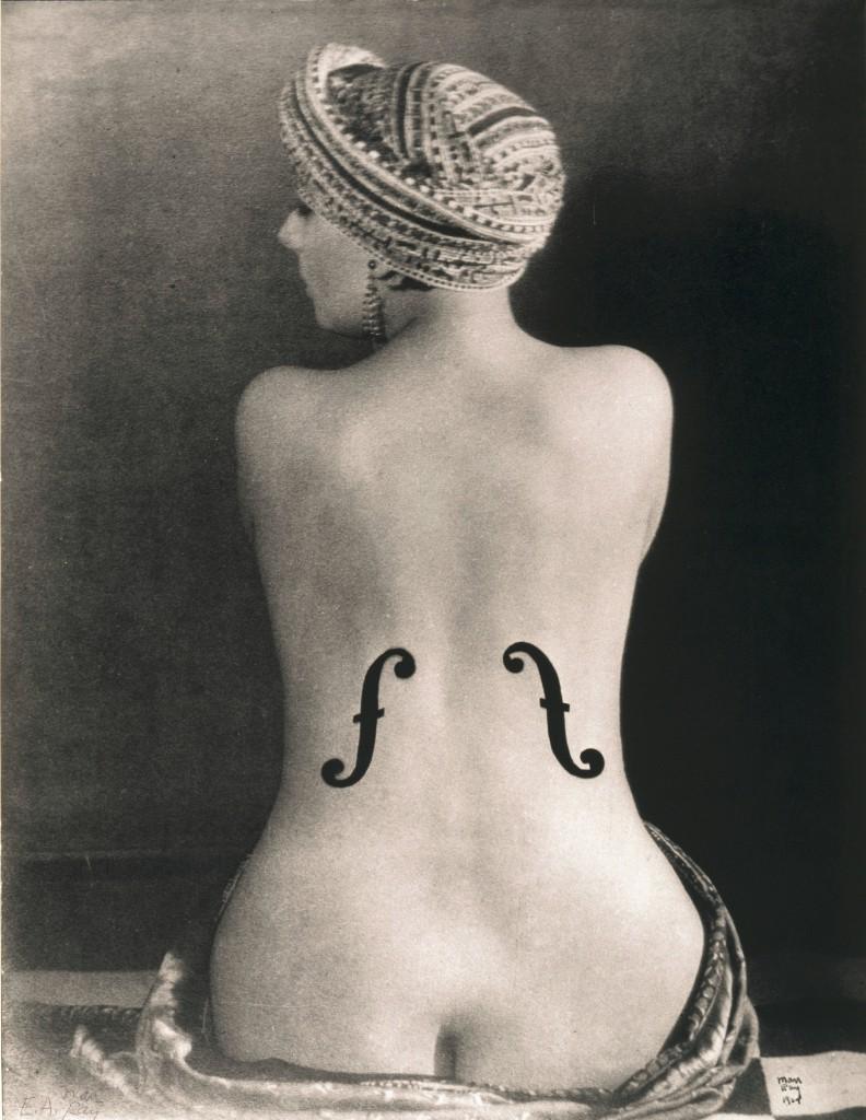 Man Ray, Kiki, Violon d`Ingres/La Violon d`Ingres, 1924; Museum Ludwig, ML/F 1977/0648